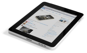 Image of iPad.