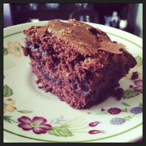 Chocolate and cherry goodness